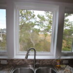 Teal Bliss Waterfront newly constructed home in Swann Keys stainless steel sink